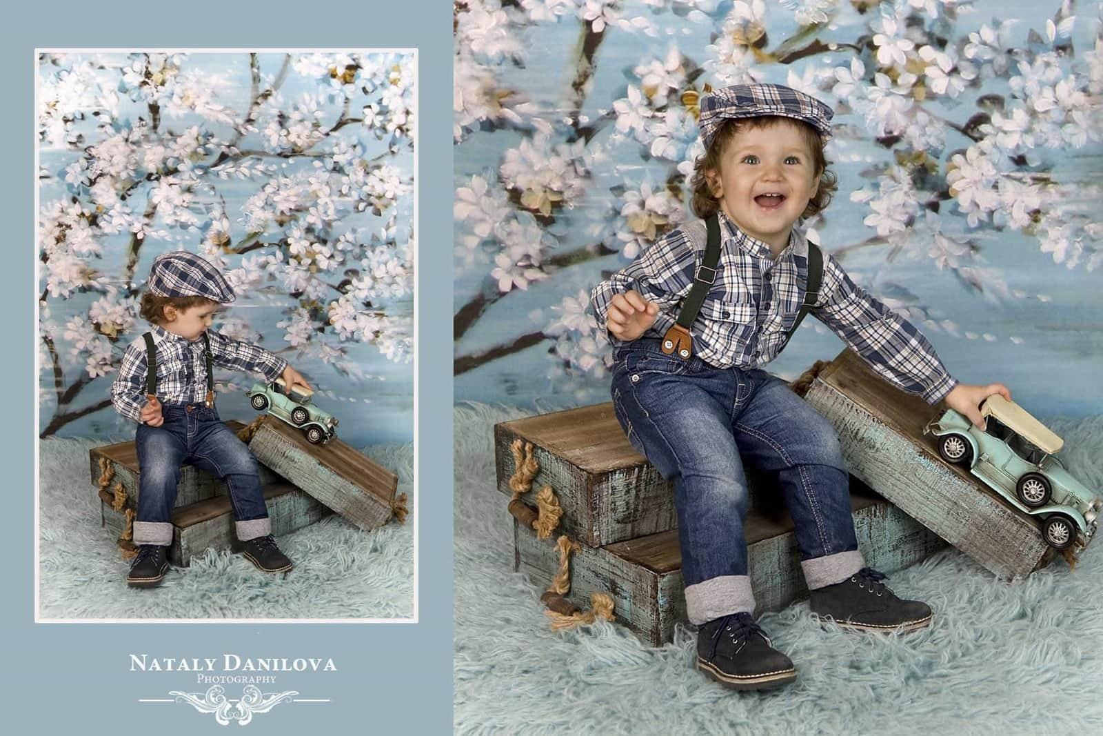 Newborn photo session DC