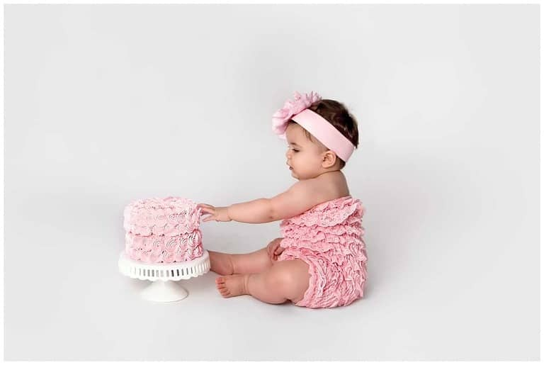Washington DC Adult Cake Smash Photographer