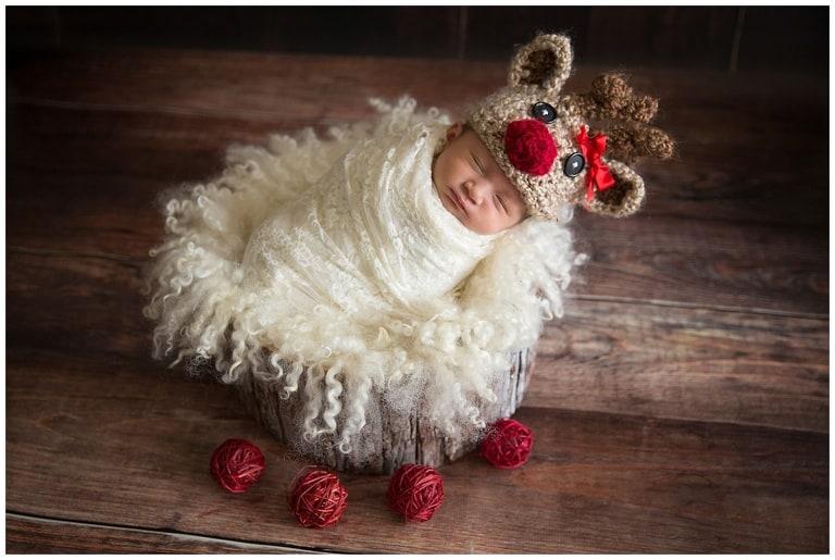 Oakton Virginia Newborn Photo Session