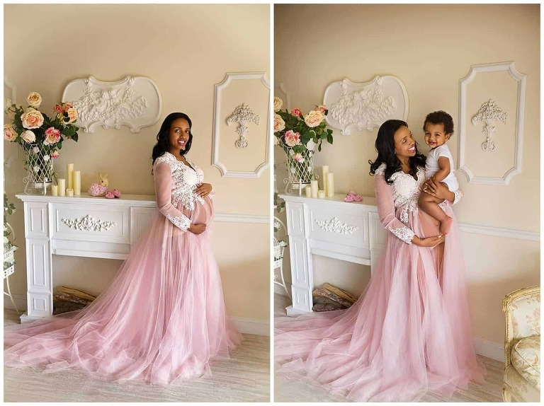 Oakton, VA Outdoor Maternity Photographer