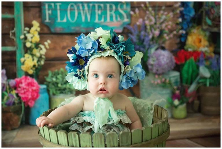 Baby Milestone Photography