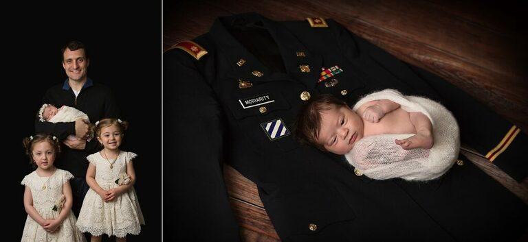 Newborn and family photoshoot Washington DC