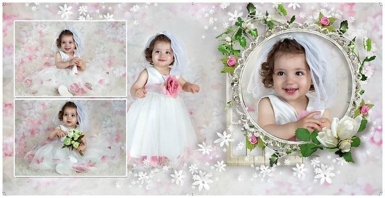 First Birthday D.C. Baby Photographer | Polina
