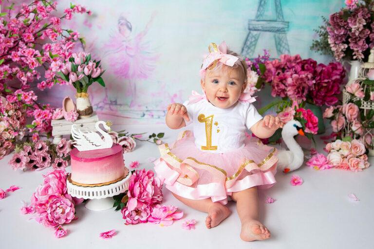 First Birthday Cake Smash Session